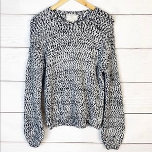 Anthropologie Sweaters - Anthropologie Fuzzy knit oversized Sweater